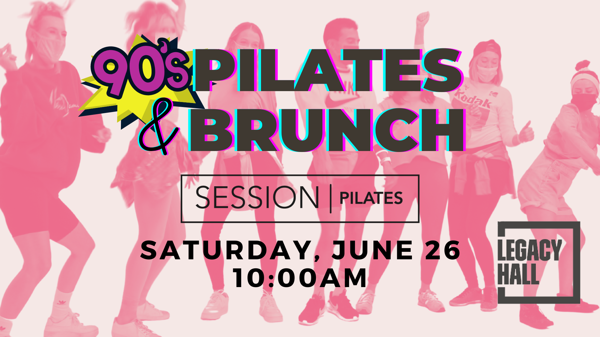 Promo image of SESSION Pilates Class & Brunch