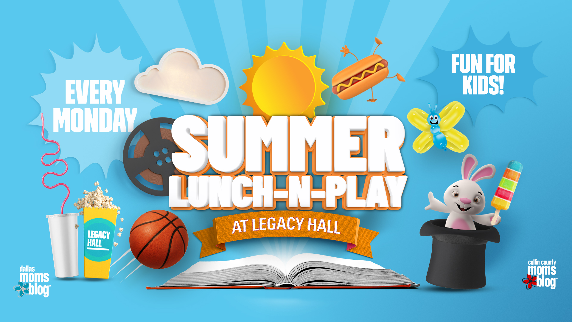 Summer Lunch-N-Play I Free Musical Storyteller - hero