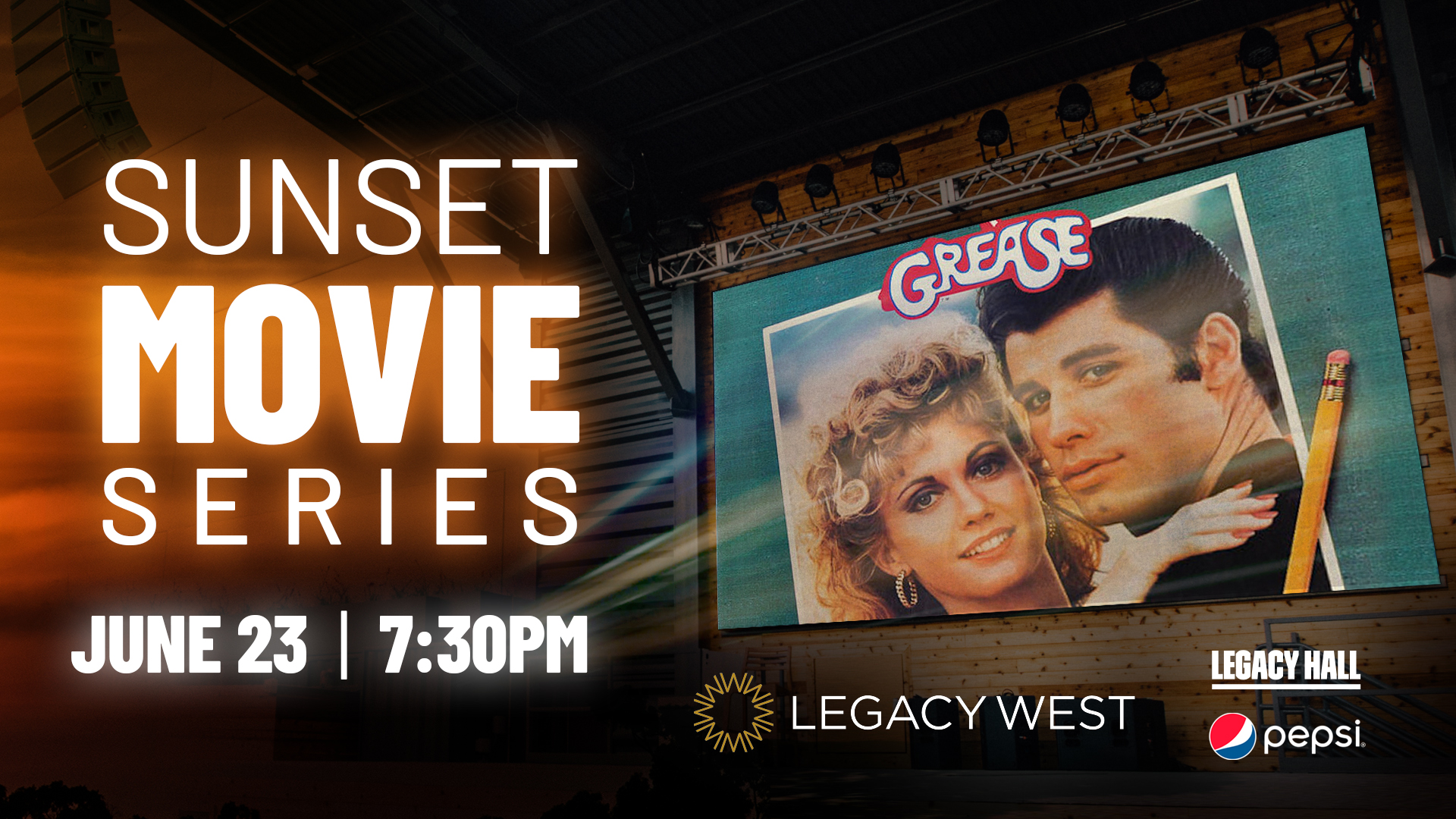 Promo image of Sunset Movie Series: Grease