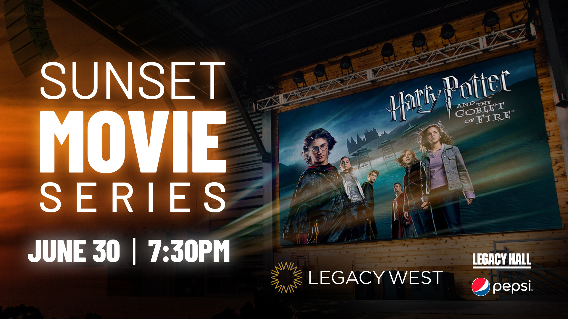 Sunset Movie Series: Harry Potter & The Goblet of Fire - hero