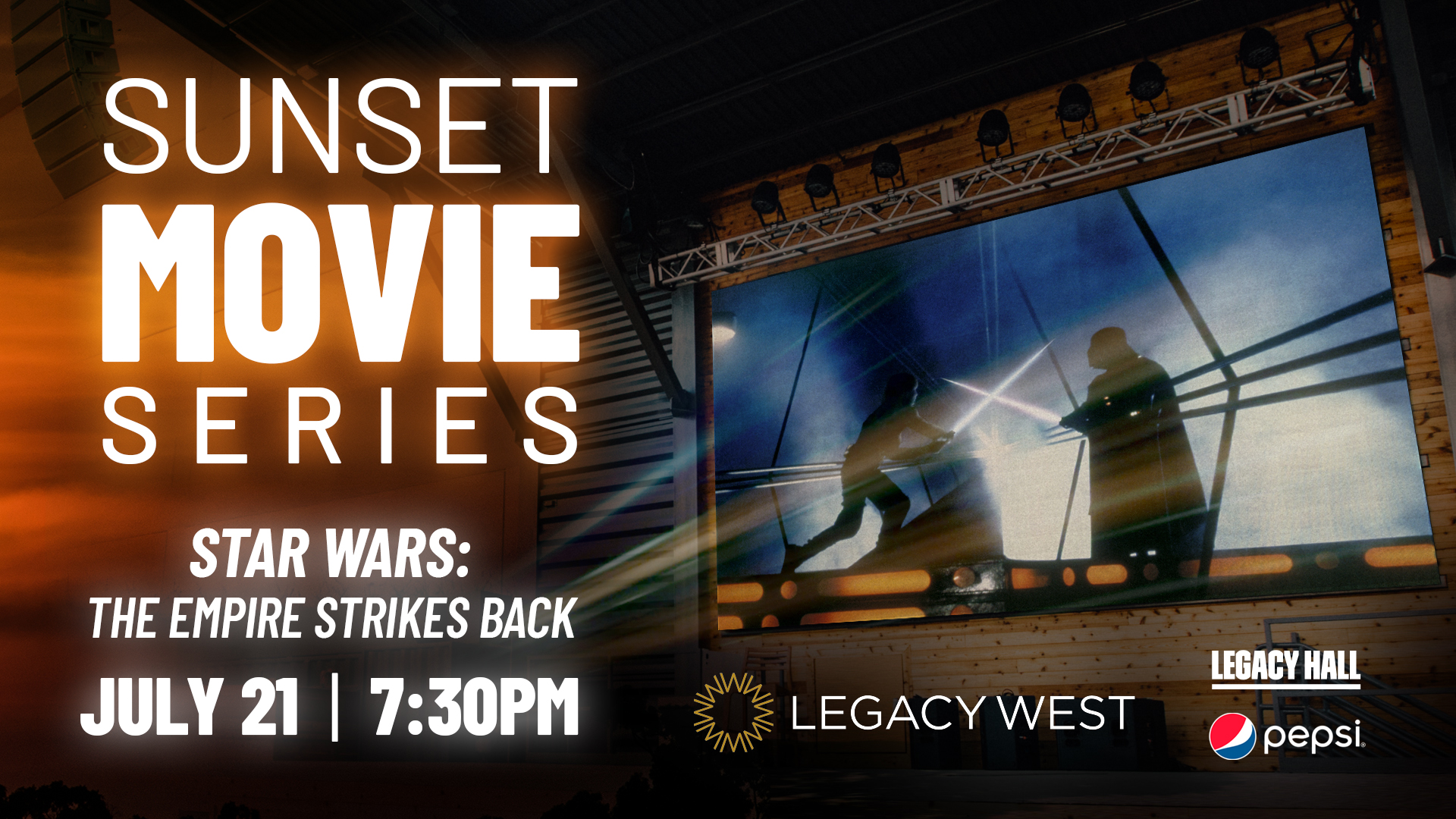 Promo image of Sunset Movie Series: Star Wars: The Empire Strikes Back