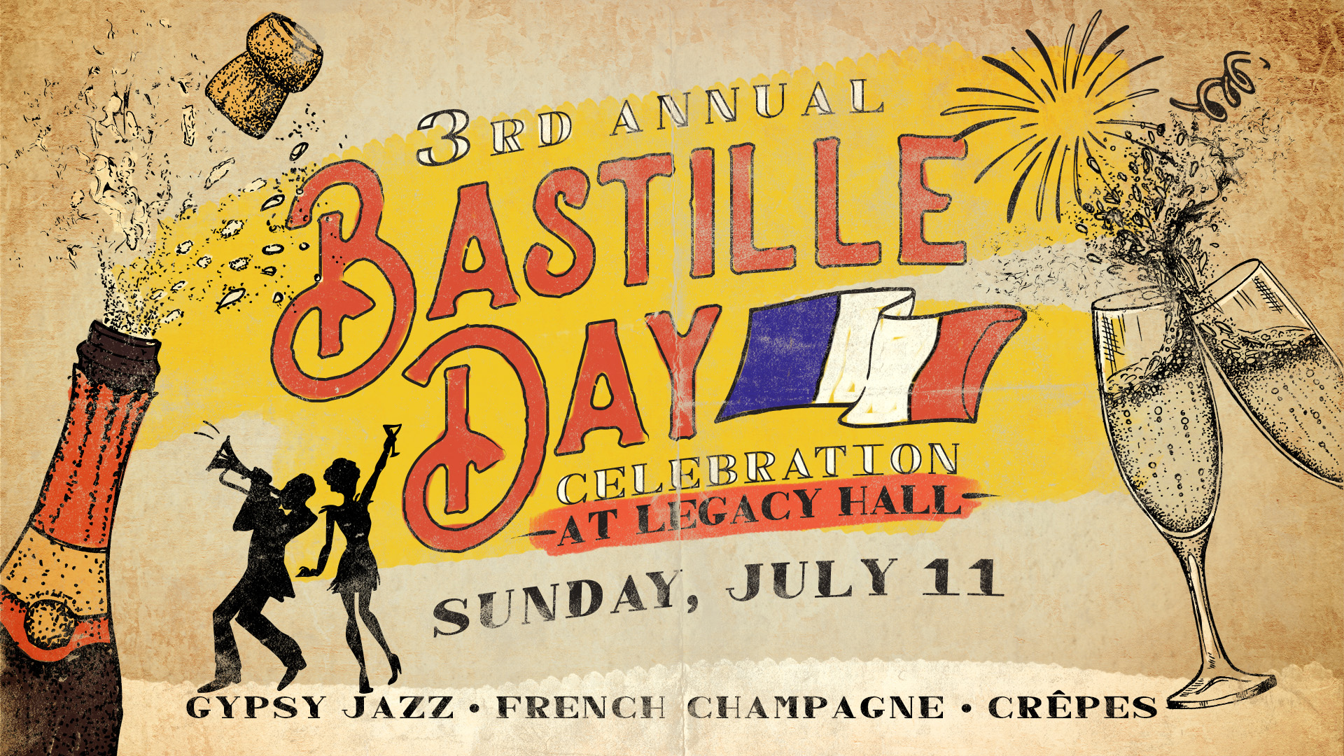 Promo image of 3rd Annual Bastille Day