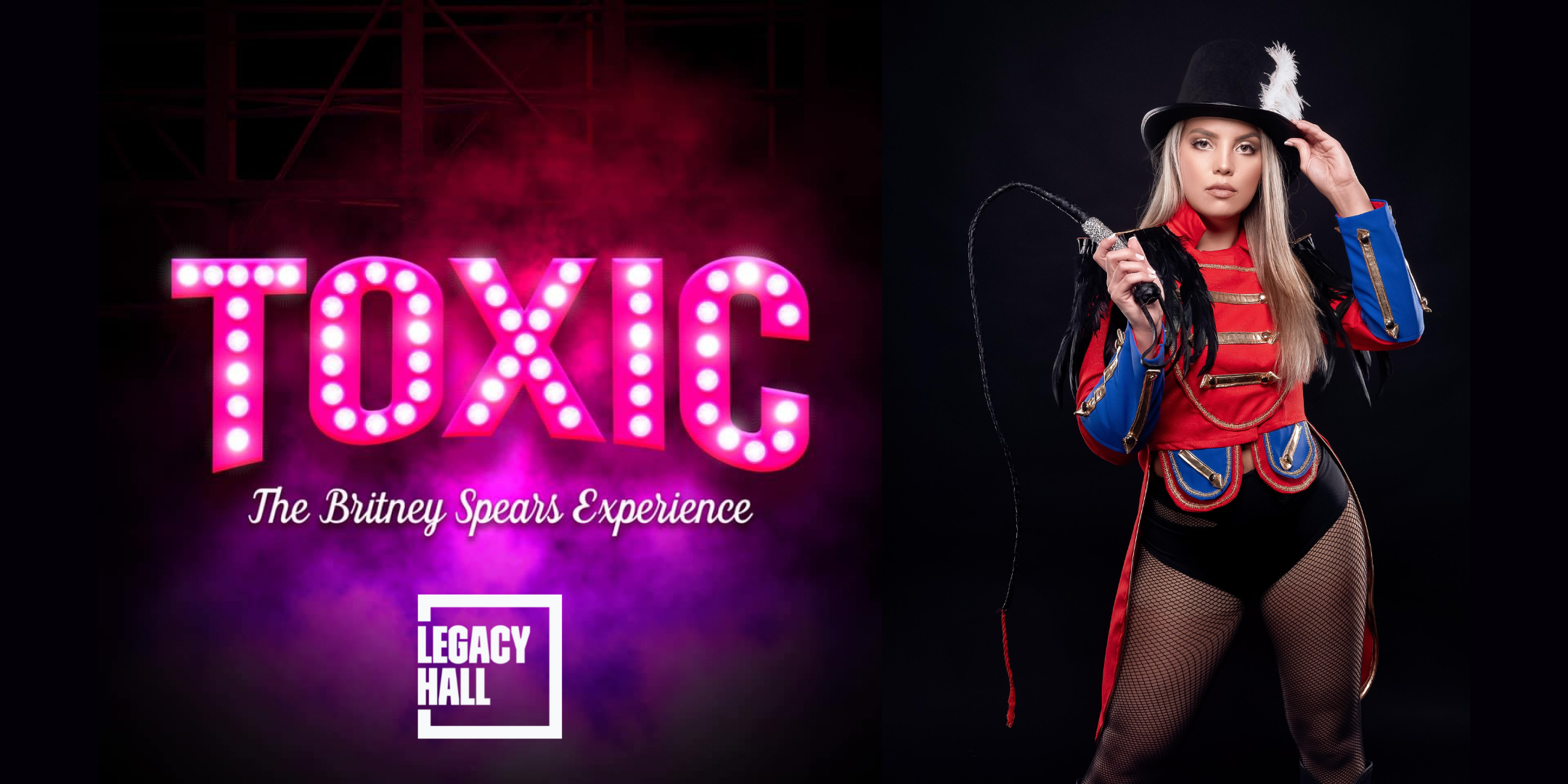 Promo image of 'Free Britney' Concert with Toxic