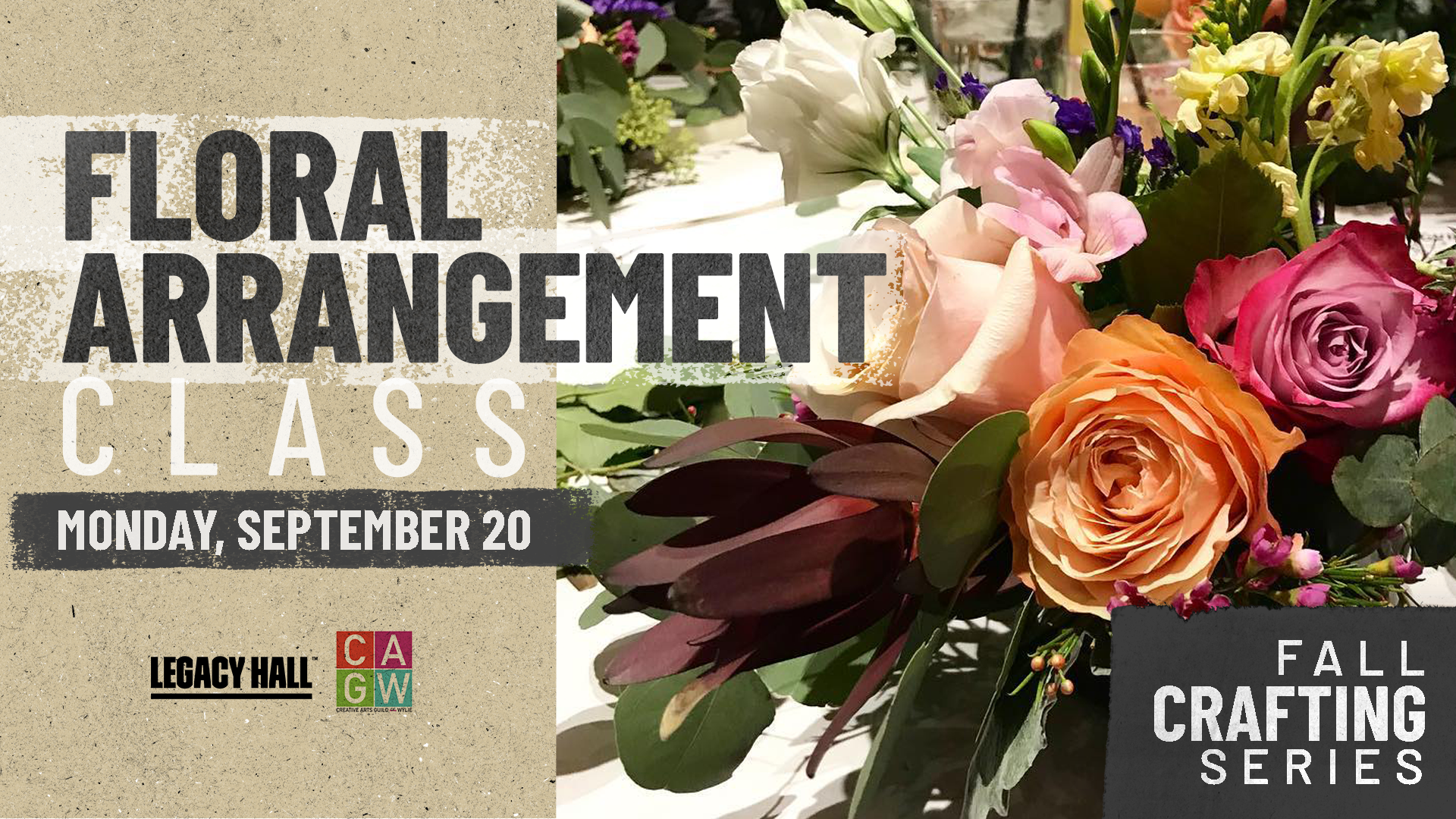 Promo image of Fall Crafting Series: Floral Arrangements