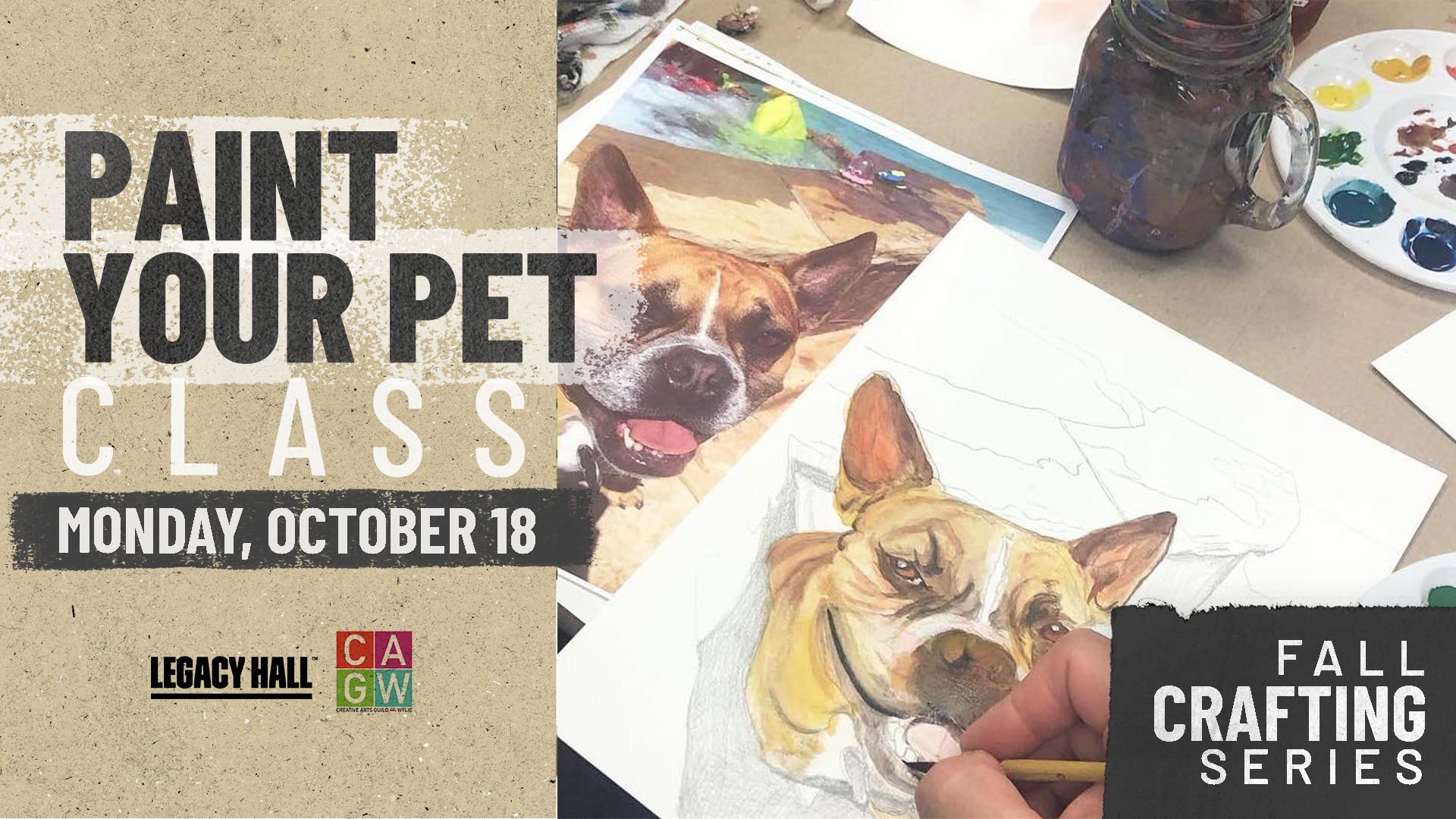 Promo image of Fall Crafting Series: Paint Your Pet