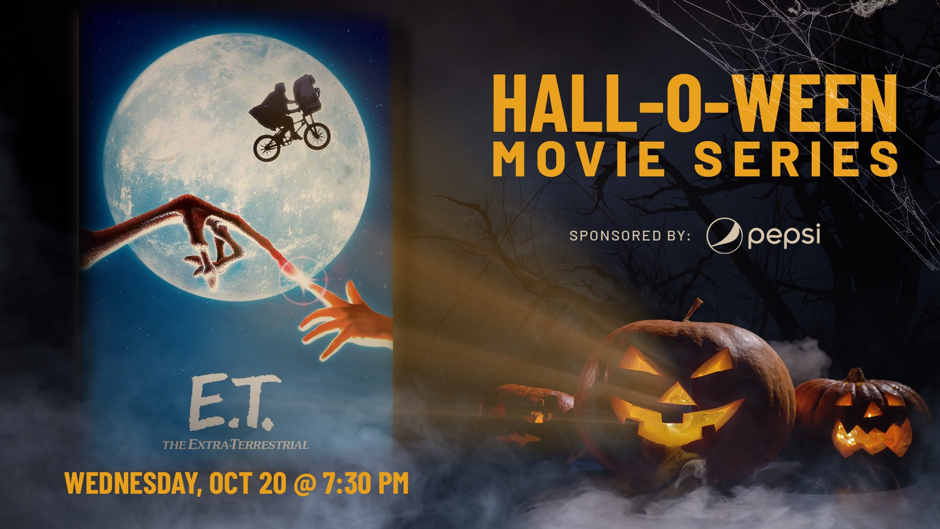 Promo image of Hall-O-Ween Movie Series: E.T.
